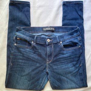 Express Jeans Midrise Leggings Size 8s